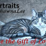 JANUARY SweetHeart Special ~ 11x14 Charcoal Pet Portrait $225 + tax. Deposit and your photo references needed to begin.